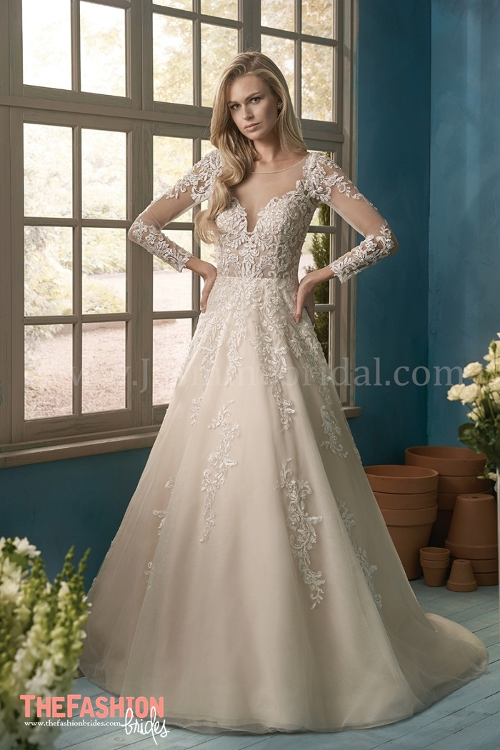 Jasmine collection 2018 spring bridal collection the for Jasmine collection wedding dress