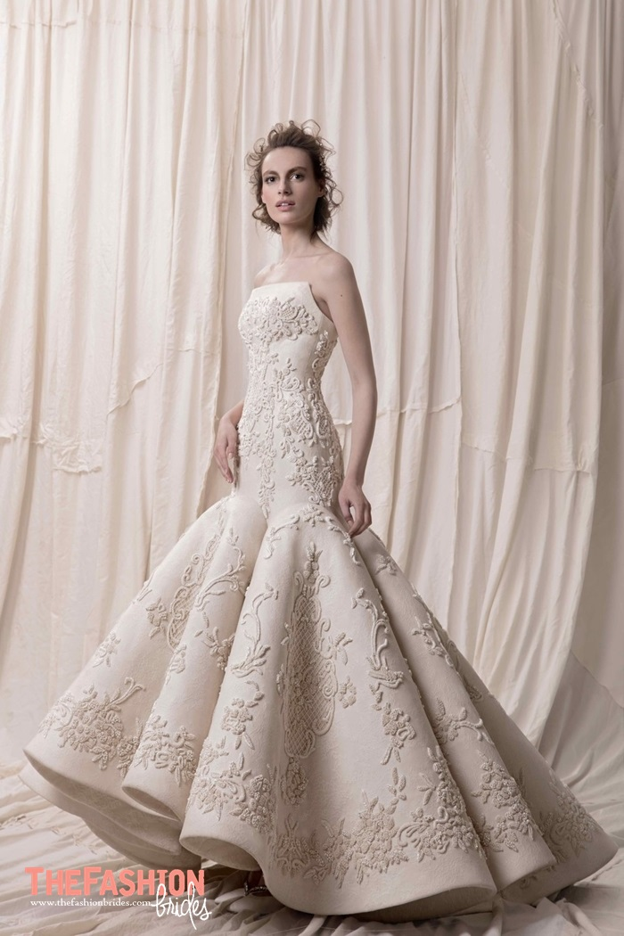 Krikor jabotian couture 2018 spring bridal collection for Top wedding dress designers 2017