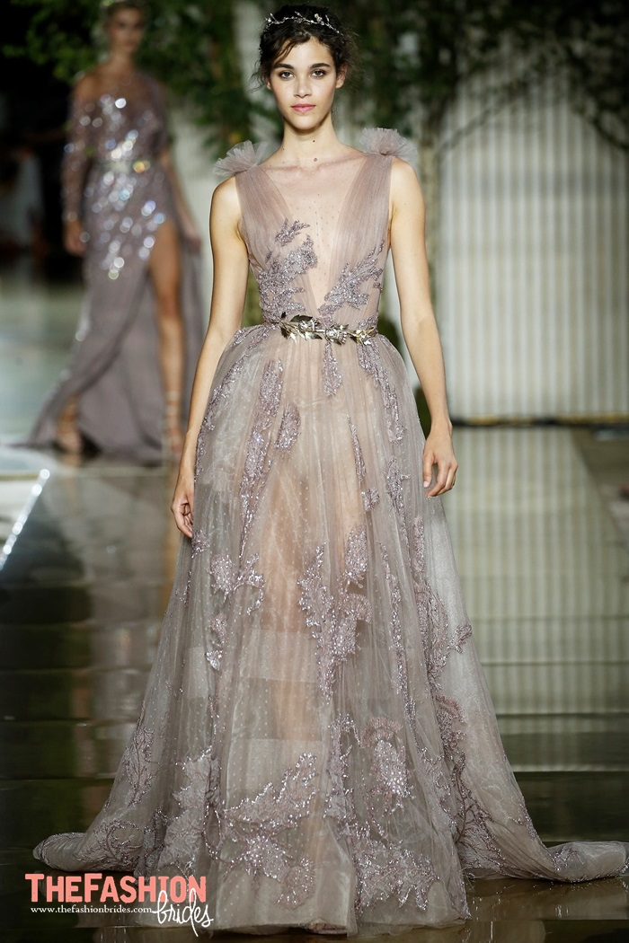 Zuhair murad 2018 spring couture collection the for Zuhair murad used wedding dress