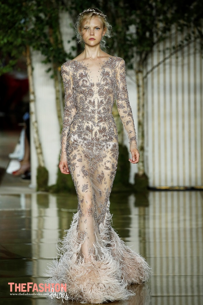 Zuhair Murad 2018 Spring Couture Collection The Fashionbrides