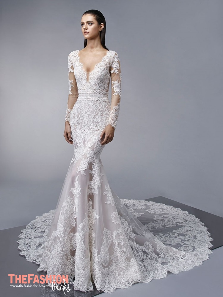 Enzoani 2018 spring bridal collection the fashionbrides for Enzoani fabi wedding dress