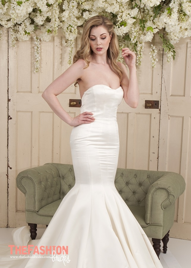 Wedding gown guide sweetheart neckline the fashionbrides for Super low back wedding dress
