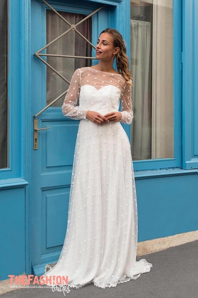Marie laporte 2018 spring bridal collection the - Magasin deco pas cher paris ...