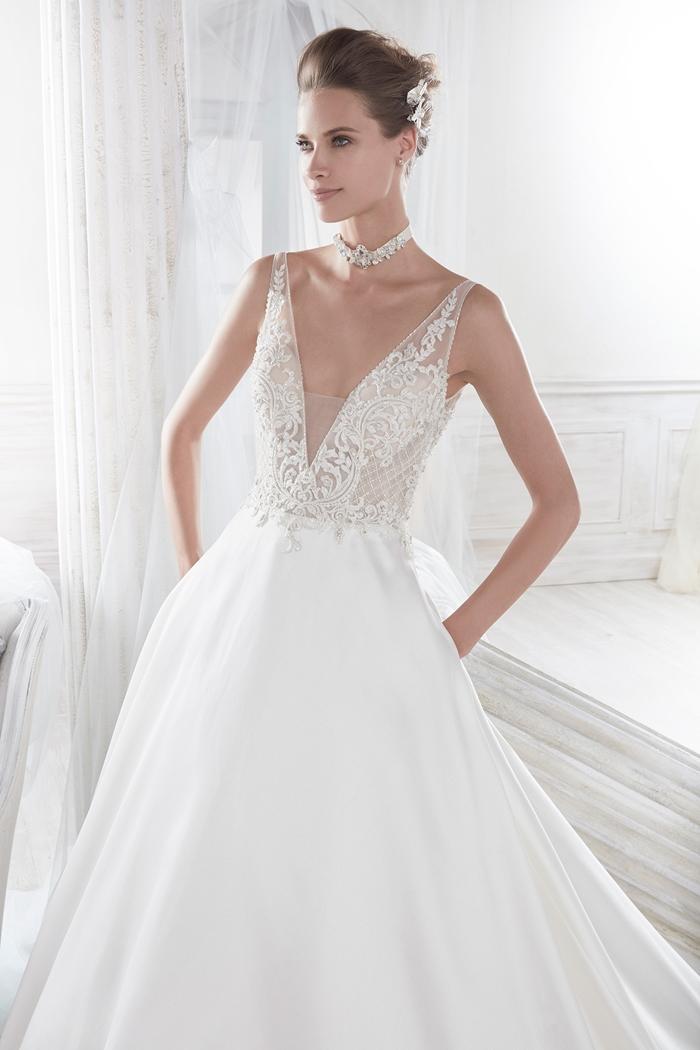 Nicole spose 2018 spring bridal collection the fashionbrides Nicole wedding dress 2018