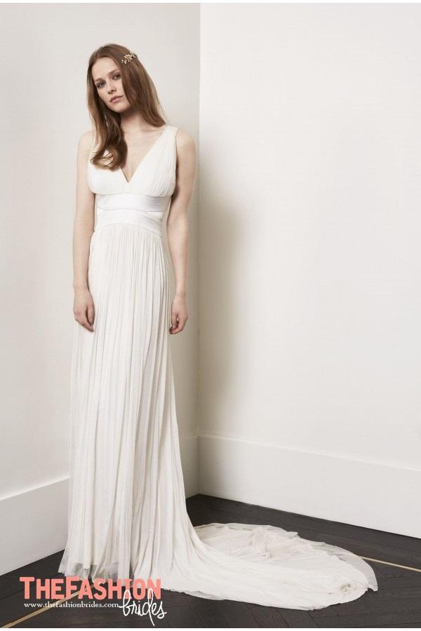 Amanda Wakeley 2018 Spring Bridal Collection » Amanda Wakeley Wedding  Gown 2018 Spring Bridal Collection 013
