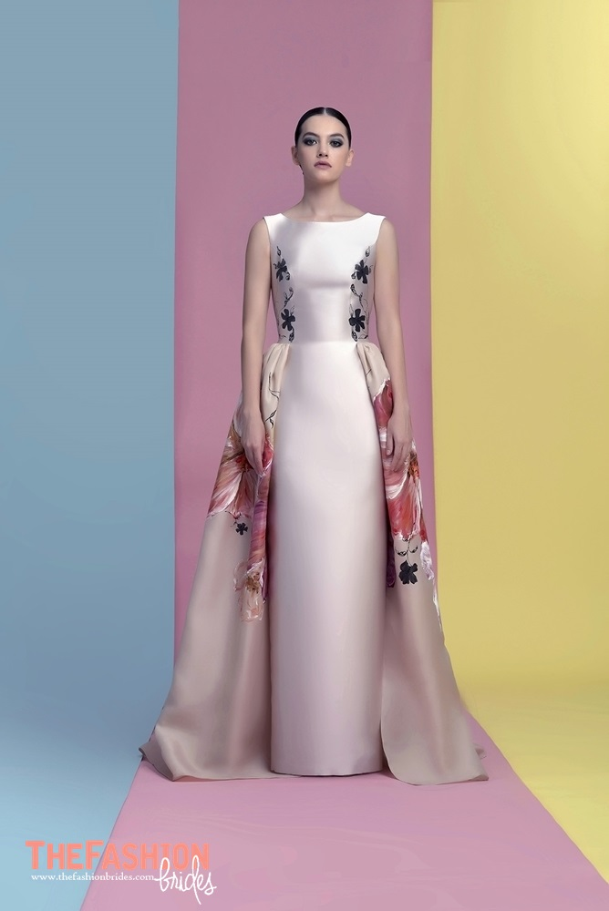 Isabel Sanchis 2018 Spring Evening Collection The