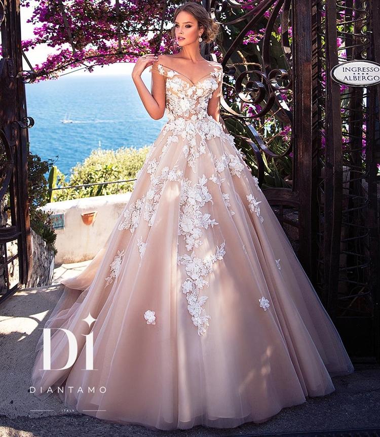 Lela Rose Bridal Wedding Dress Collection Spring 2018: Positano Dreams By Diantamo 2018 Spring Bridal Collection