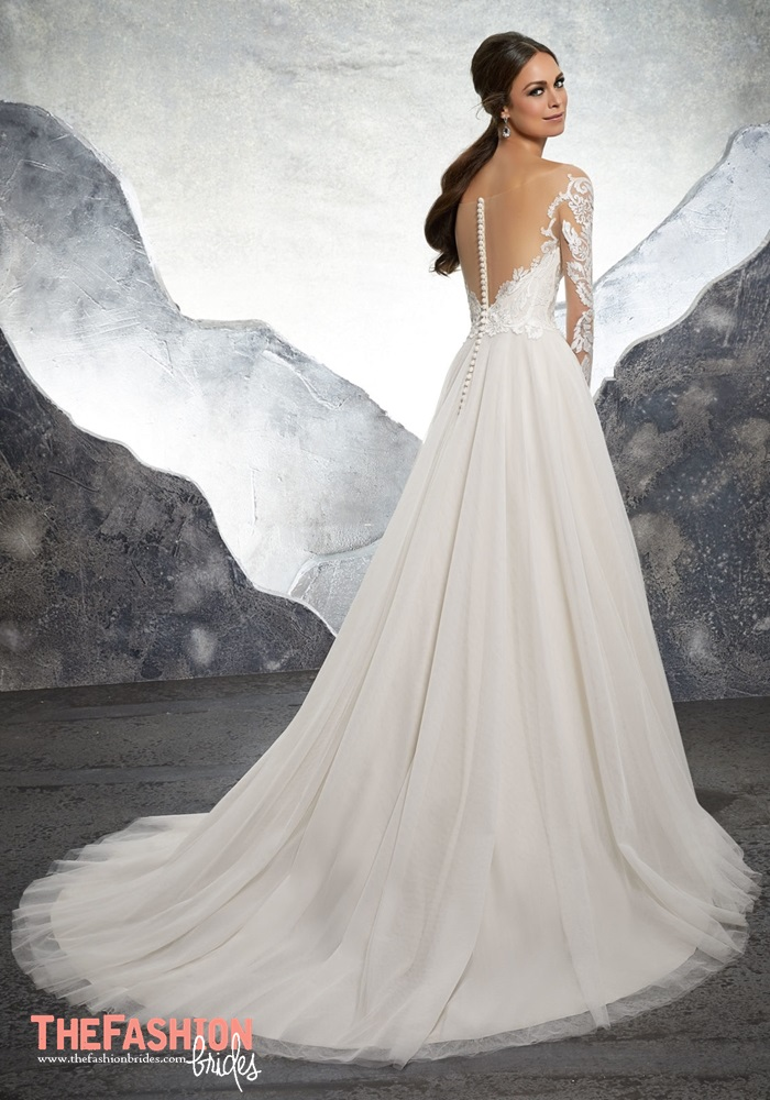 Blu by mori lee 2018 spring bridal collection the for Where to buy mori lee wedding dresses