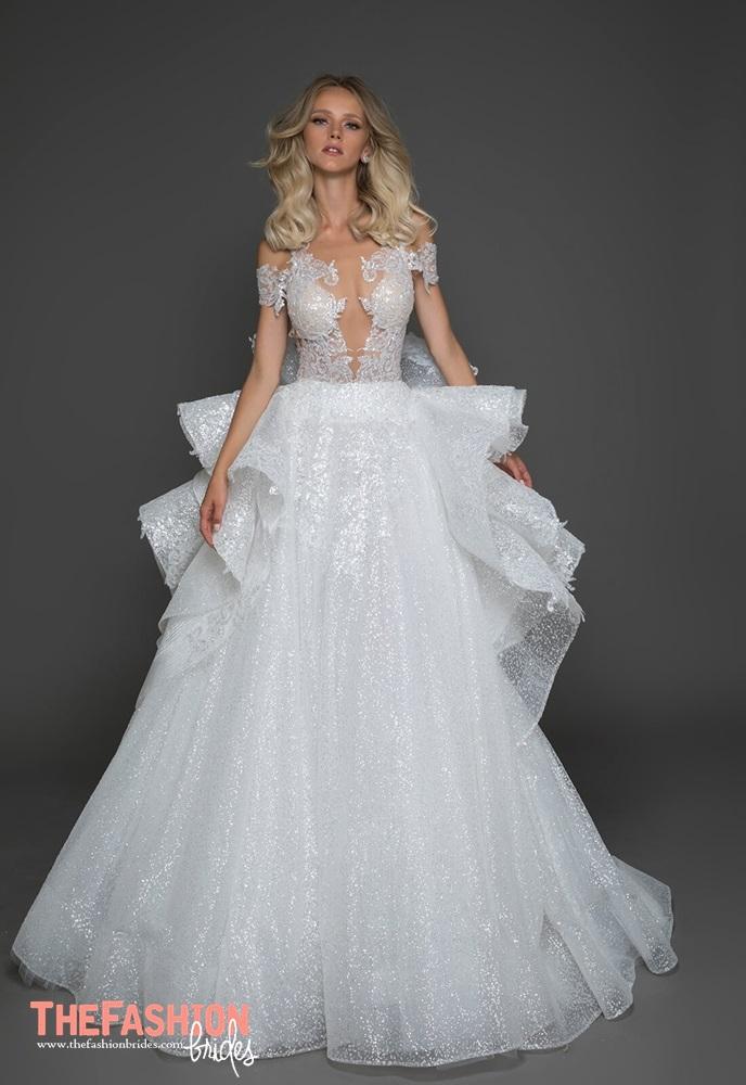 Pnina tornai 2018 spring bridal collection the fashionbrides for Used pnina tornai wedding dress