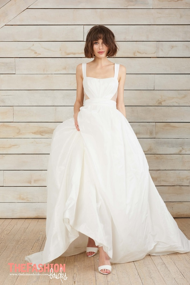 Amsale nouvelle 2018 spring bridal collection the fashionbrides amsales elegant designs have made her the number one couture wedding gown designer in the united states and won her the reputation as the creator of the junglespirit Image collections