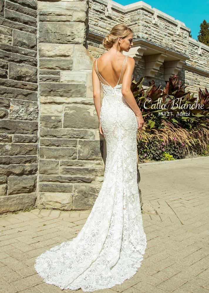 Calla blanche 2018 spring bridal collection the for Calla blanche wedding dress