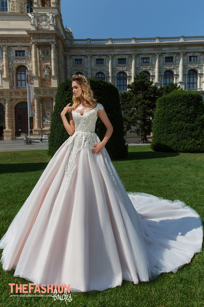 Royal garden by crystal design 2018 spring bridal for How much are crystal design wedding dresses