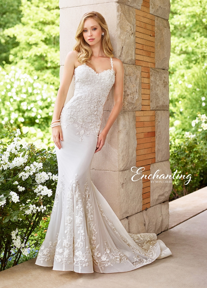 Enchanting by mon cheri 2018 spring bridal collection for Wedding dresses for brides over 65