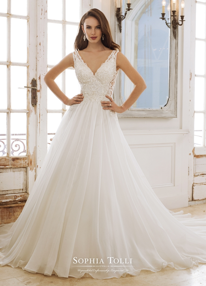 sophia-tolli-wedding-gown-2018-spring-bridal-collection-068 | The ...