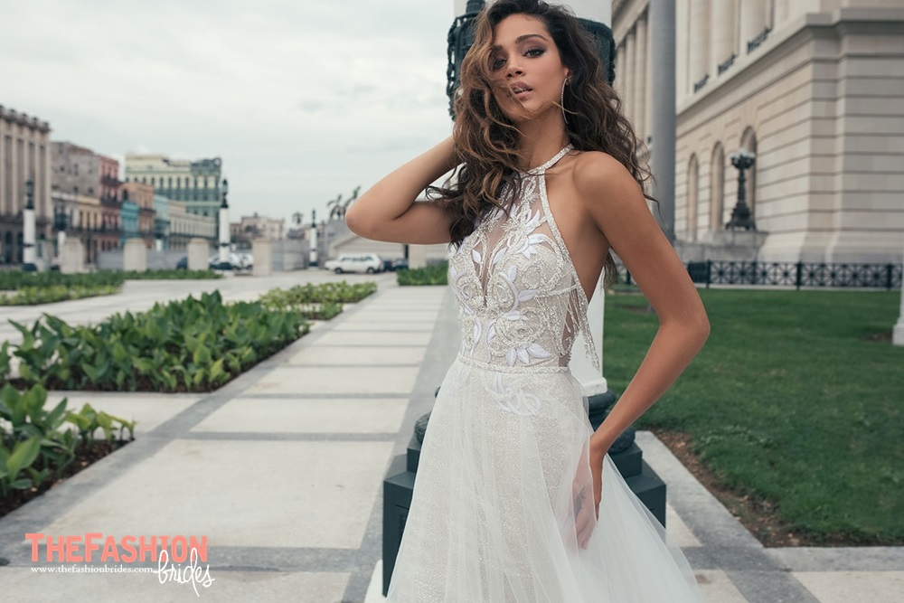c03d5968a2 Wedding Gown Guide High Neckline Julie Vino 2018 Spring Bridal Collection 07