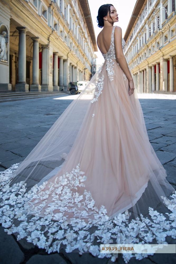 Beautiful Colorful Wedding Dresses