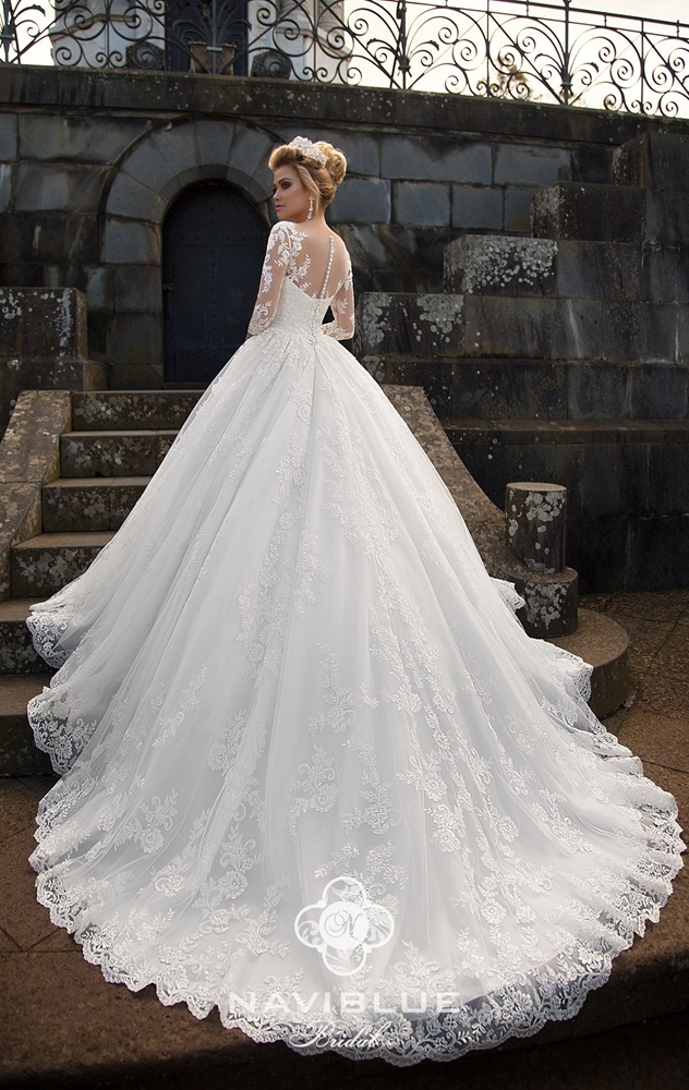 335920b9b6 Designers of the trademark NAVIBLUE brilliantly combine classic shapes and  current trends in their wonderful collections. Wedding dresses are  constructed ...