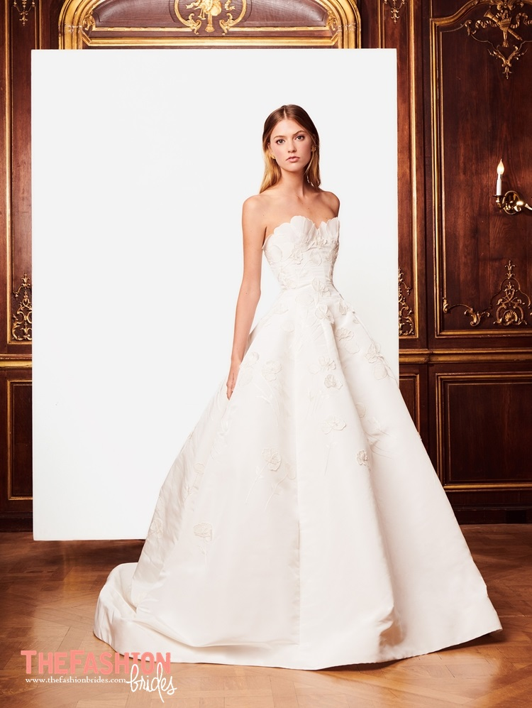 Oscar de la renta the fashionbrides oscar de la renta showed its wedding dresses at bridal fashion week in keeping with that sentiment the new oscar de la renta collection of wedding dresses junglespirit Image collections