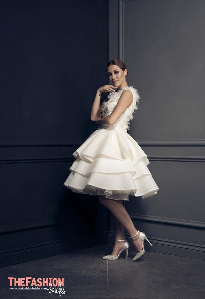 Short Spring Wedding Dress
