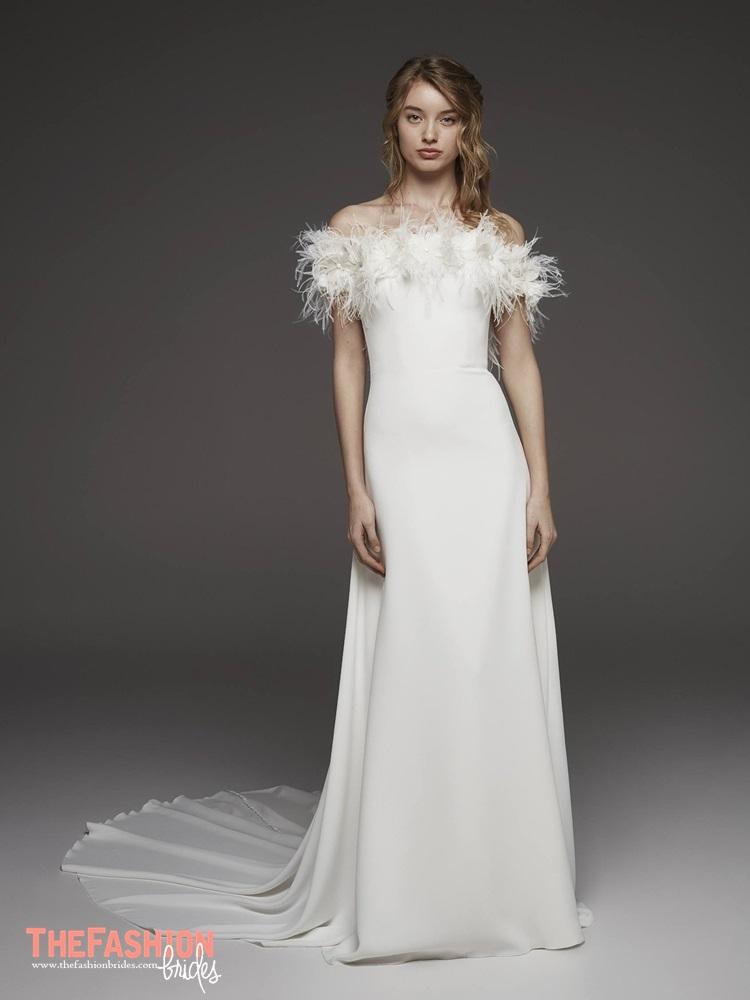 4fd44a6818e Atelier Pronovias 2019 Spring Bridal Collection » atelier-pronovias-2019- spring-bridal-collection-016