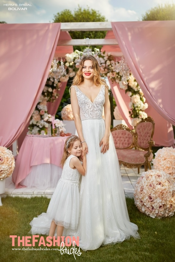 Herms Bridal 2018 Spring Bridal Collection | The FashionBrides