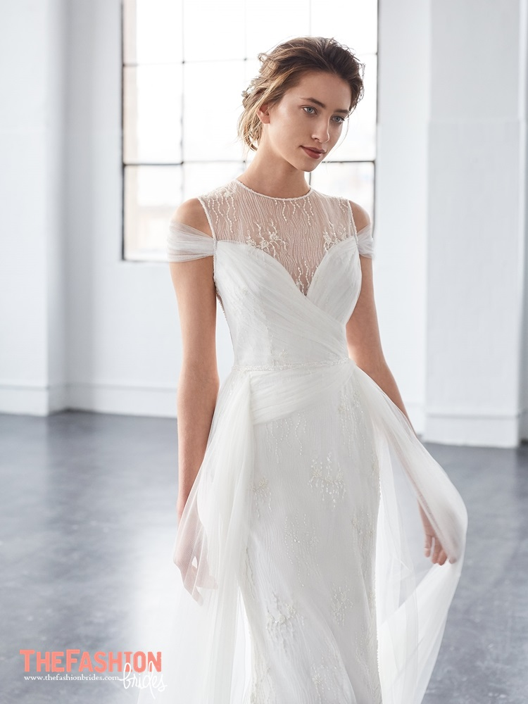 Wedding Gown Guide: Illusion Neckline | The FashionBrides