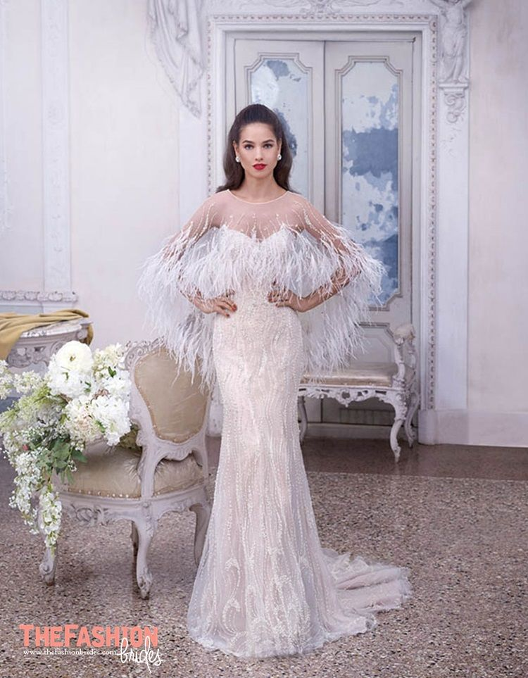 4086be7320c Wedding Gown Guide  Bolero » demetrios-platinum-2019-spring-bridal -collection-09
