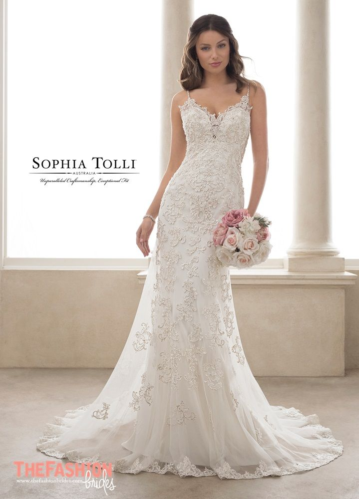 Sophia Tolli 2019 Spring Bridal Collection The Fashionbrides