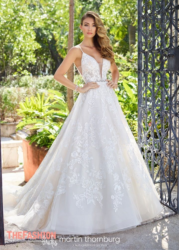 659afeae0b9 Martin Thornburg 2019 Spring Bridal Collection
