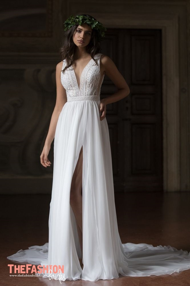 Wedding gown guide split wedding gowns the fashionbrides for Can t decide on wedding dress