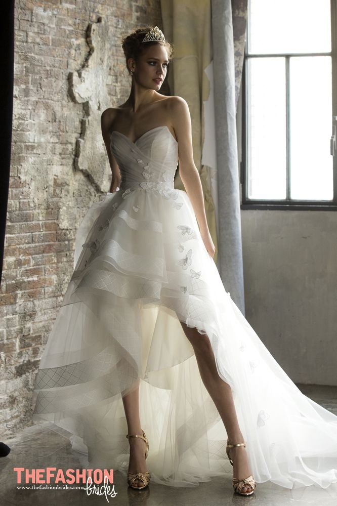 High Low Wedding Gown | The FashionBrides