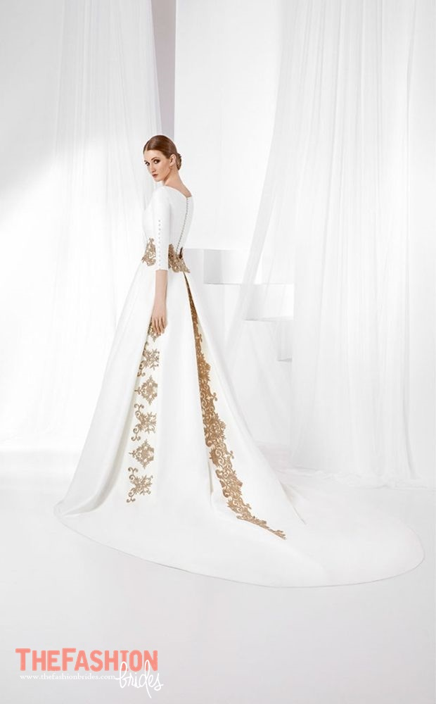 Franc Sarabia is one of the top names in the bridal wear sector. The label  is operated by bridal and party wear manufacturer Casablanca Difusiones  S.L. 5b87491d3