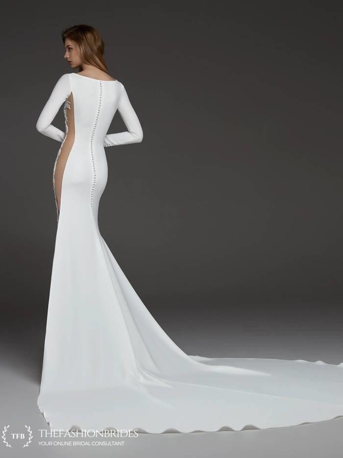 7571e84c263 Atelier Pronovias 2019 Fall Bridal Collection – The FashionBrides