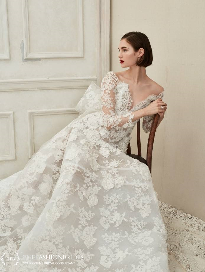 Spring Wedding Dresses.Oscar De La Renta 2019 Spring Bridal Collection The