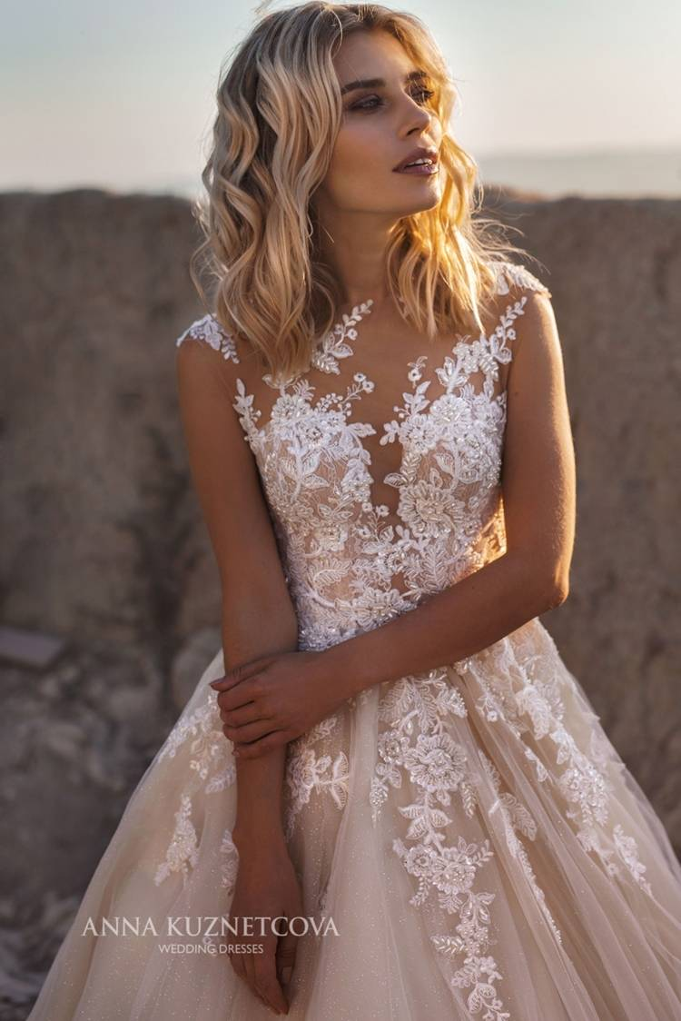 25eb053a95e3 Anna Kuznetcova is a Russian manufacturer of wedding dresses. Their  production is equipped with the most modern equipment