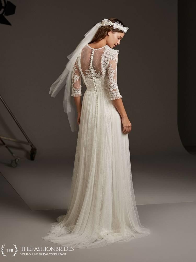 pronovias 2020 spring bridal collection � the fashionbrides