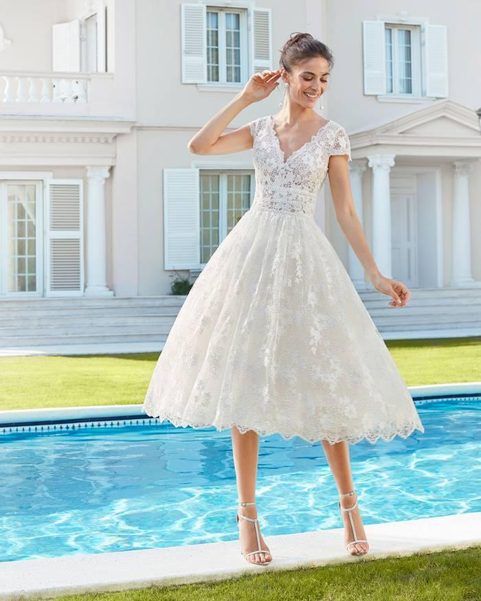 Most Beautiful Short Wedding Dresses
